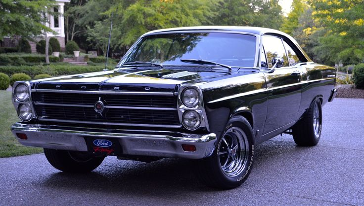 500HP 1966 Ford Fairlane GT 5-Pace