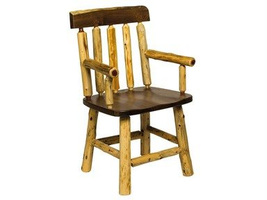 Shop For Barkman Walnut Pine Arm Chair And Other Dining Room Chairs At High Country Furniture Design In Waynesville NC