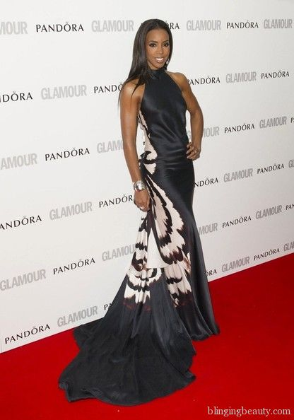 Kelly Rowland Glamour women of the year 2012