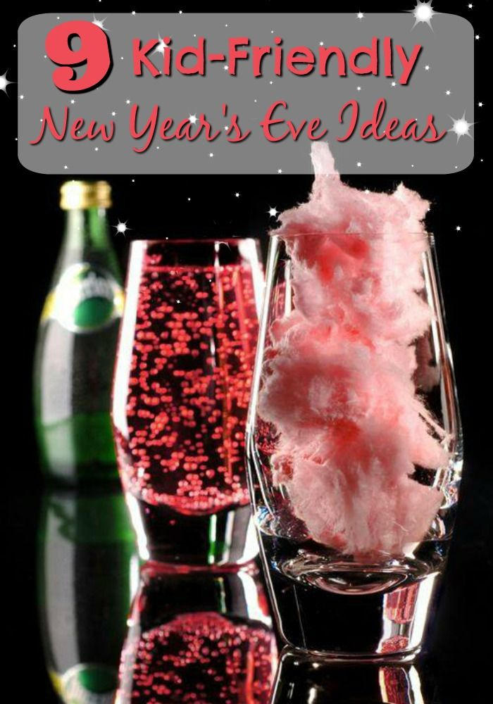 Check out these 9 amazing Kid-Friendly New Year's Eve ideas to keep the fun going all night long! DIY Kid Drink Bar, so they can toast in the New Year with the adults and many more great ideas!