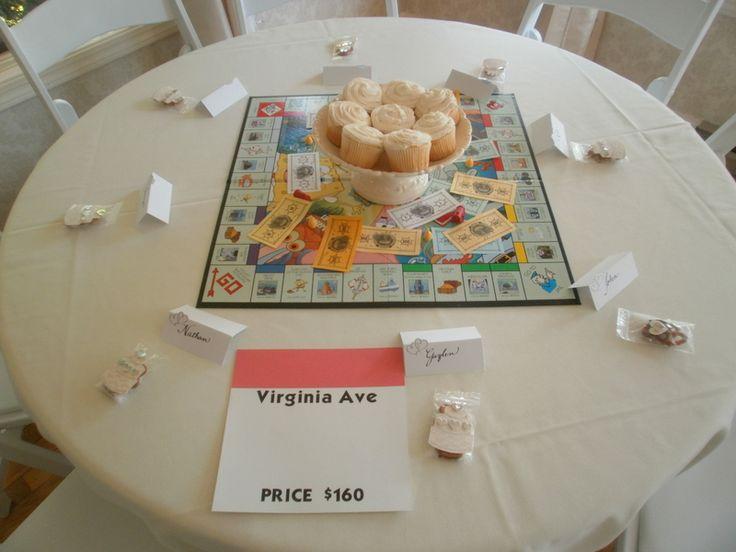 Fun Board Game Themed Reception