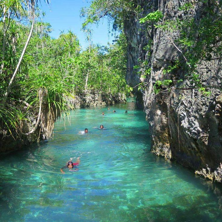 Nature pools at Kei Island . Next trip to kei island:  Jun: 24-27 Jul: 3-6…