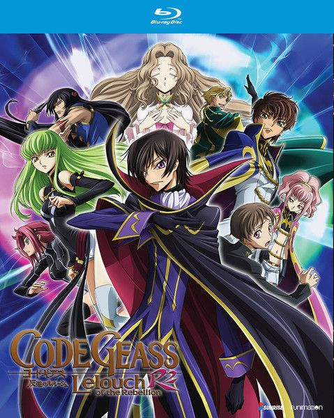 BackAbout Code Geass Lelouch of the Rebellion R2 Blu-ray Code Geass Lelouch of the Rebellion R2 (Season 2) contains episodes 1-25 In 2017 a.t.b. the Holy Britannian Empire has reign over half of the world. Each country they conquer is stripped of their culture, their freedom, and even their name. A beacon of hope for the people came in the form of a mysterious masked rebel named Zero and his army of Black Knights. Behind the mask is Lelouch Lamperouge, once a prince of the Britannian Empire…