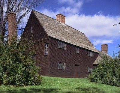Jackson House (oldest house in NH - c. 1664)  Portsmouth, NH