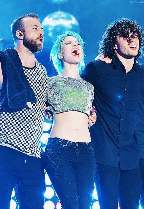 PARAMORE at the Reading Festival 2014