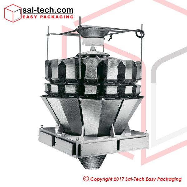 STEP 16 Head Salad Weigher with screw function (5.5L)  A fast and robust choice for business weighing requirements. This 16 head 5.5L salad weigher is made up of durable material with a waterproof standard of IP66. Also, this machine may be demanded with stainless steel as actuator house. With high competency in both efficiency and display, this machine will certainly bring a long-term support in heightening production rate and diminishing cost.