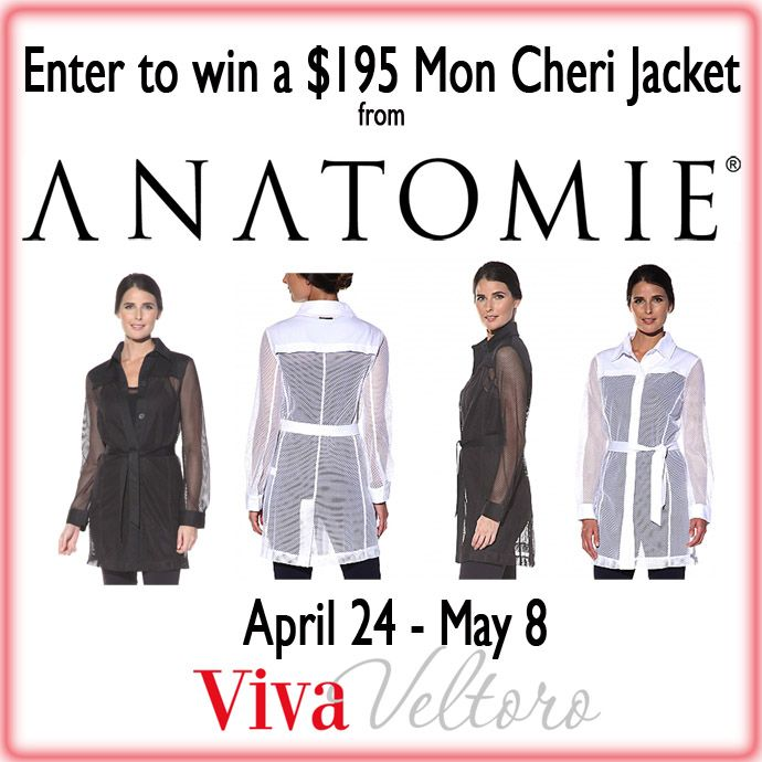 Check out the awesome travel clothes (no wrinkles!) from Anatomie an enter to win their $195 Mon Cherie Jacket!