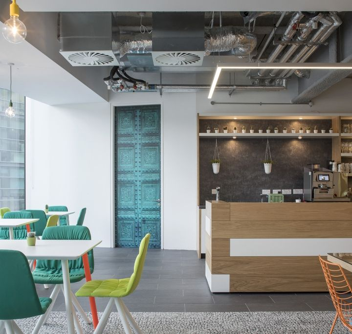 Viccarbe Furniture At Hostelworld Office Dublin Ireland Retail Design Blog