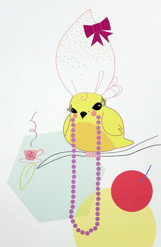 Netty - digital art illustration by Ramalamb