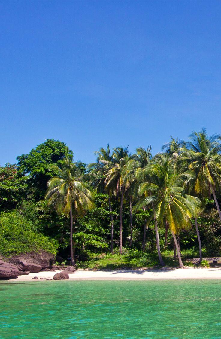 Fingernail Island ist ein kleines Paradies südlich vom Phu Quoc im An Thoi Archipel. Der einsame Strand ist traumhaft und während unseres Besuchs war niemand anderes vor Ort. Ein Highlight Vietnams.