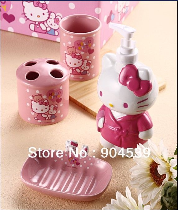 28 best My Hello Kitty Bathroom images on Pinterest Hello kitty