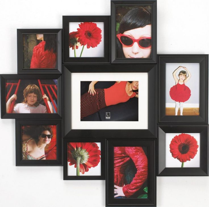 amazoncom extra large horchow massena multi photo frame collection ...