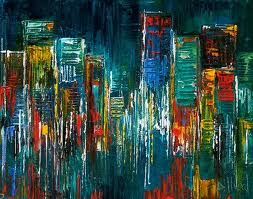 abstract cityscape art - Google Search