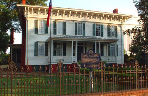 jefferson davis house va