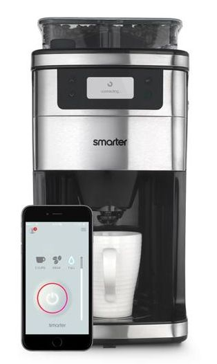 Ţi-ar plăcea să te trezeşti dimineaţă şi să ai cafeaua gata făcută? WiFi Coffee Machine este un aparat de cafea inteligent conceput de firma Smarter.
