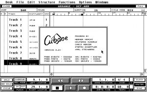 Cubase (from Atari ST to PC to MacPro)