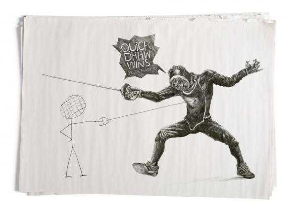 Pictionary: Fencing #Publicidad