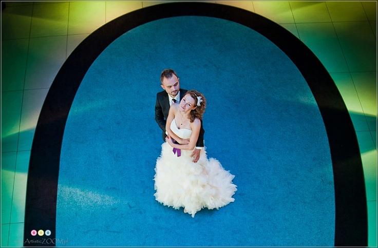Kolor na plenerze ślubnym