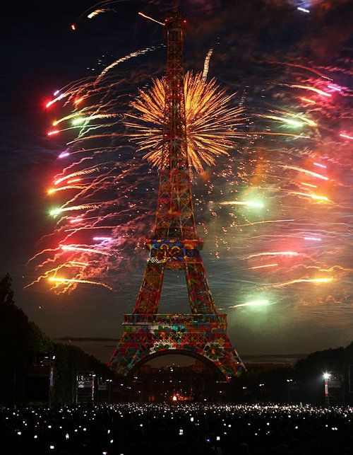 bastille day paris france 2015