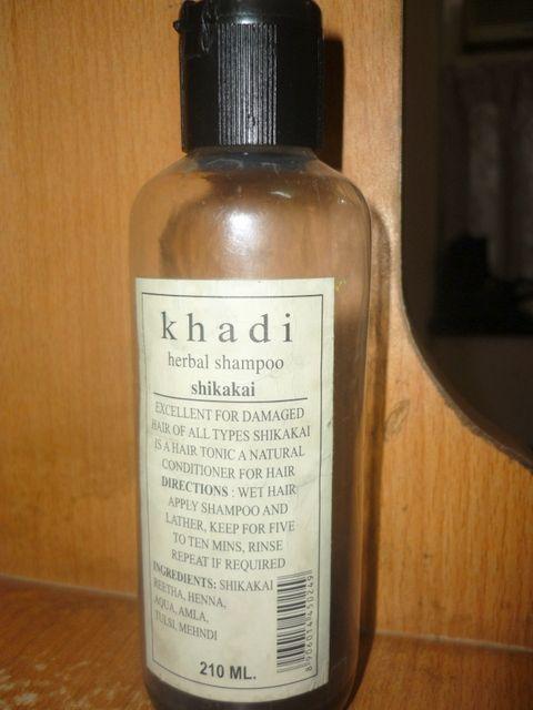 #Khadi #Herbal #Shikakai #Shampoo #review #price and details on the blog