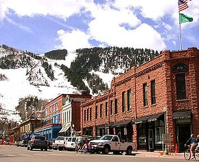 Aspen, Colorado.  I've been here several times. It gets pricier and more exclusive each time we go.  But it's fun to walk around and imagine the celebrities you'll see.  Eat at Little Annie's and stay at the Little Red Ski Haus.