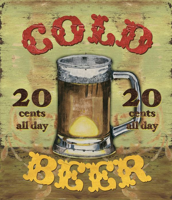 20¢ Beer all day