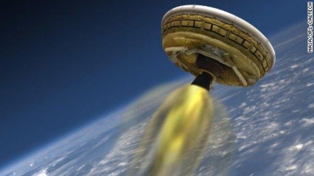 CNN.co.jp : NASAの「空飛ぶ円盤」、ハワイで飛行実験