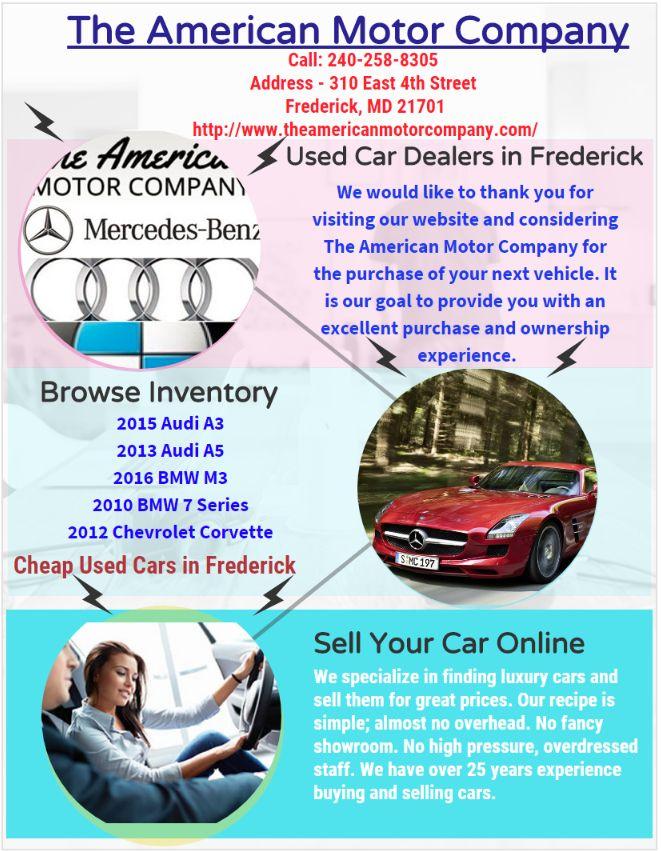 8 best Buy Used Cars Online in Frederick images on Pinterest | Motor ...