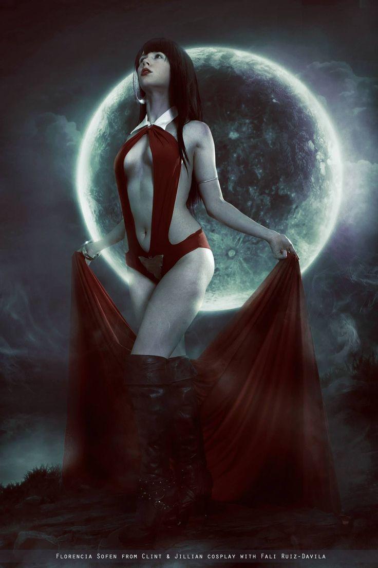 Character: Vampirella / From: Warren Publishing, Harris ...