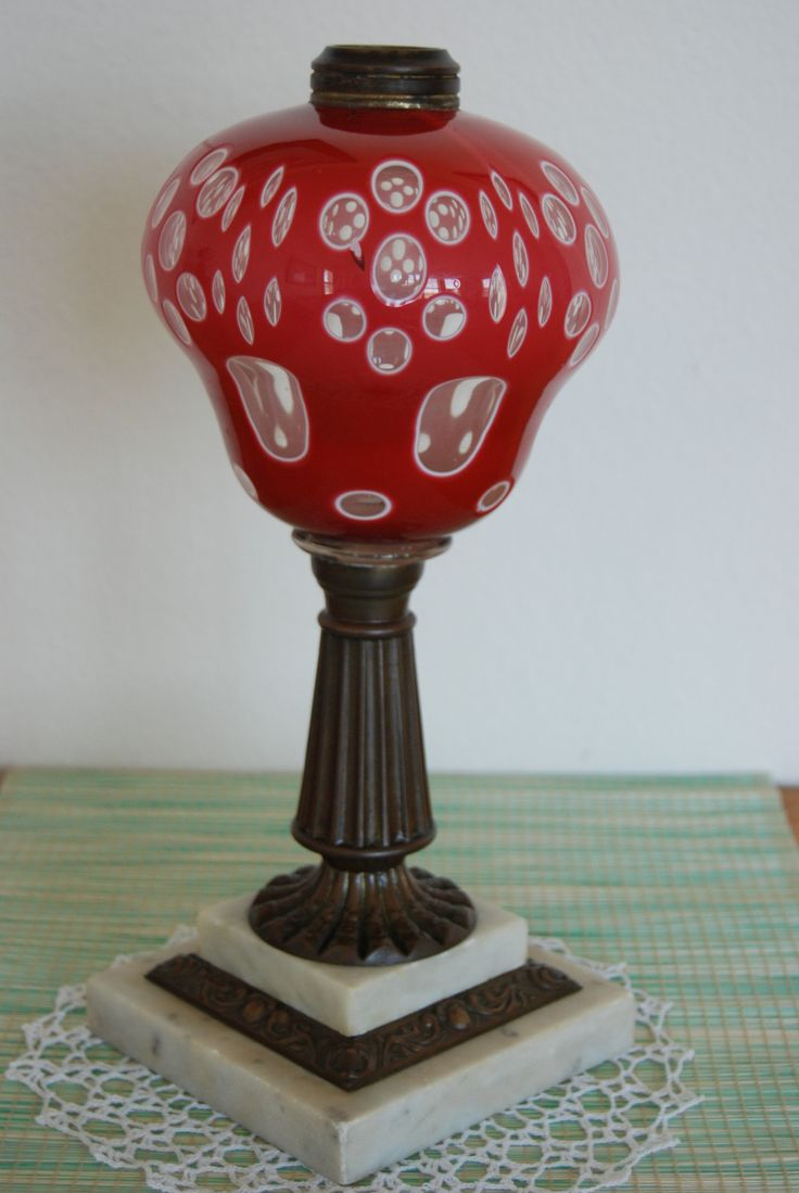 108 best antique oil lamps images on pinterest. Black Bedroom Furniture Sets. Home Design Ideas