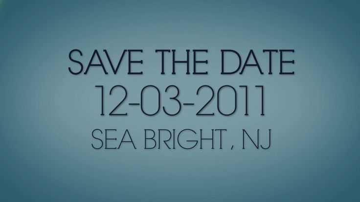 Save the Date — Rebecca and Ivan on Vimeo