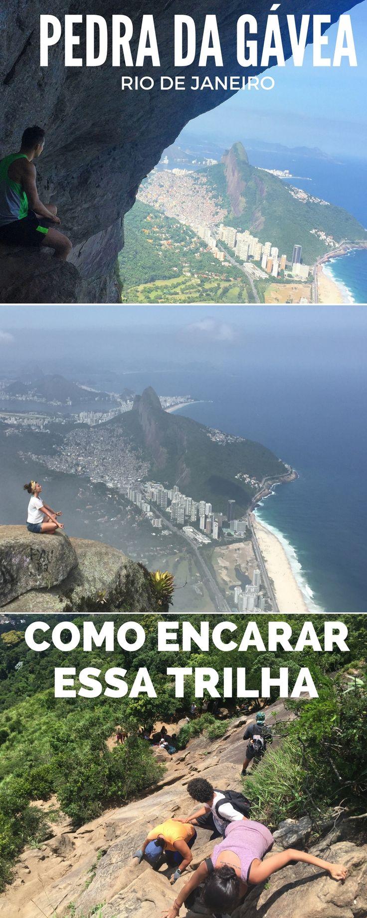 Como fazer a trilha da Pedra da Gávea, umas das trilhas mais difíceis do Rio de Janeiros.