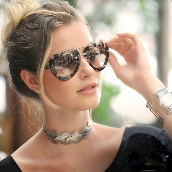 11 Hottest Eyewear Trends for Men & Women 2017 - Sunglasses are worn for different purposes. We do not wear them for just protecting our eyes from sunlight or dust while walking in the streets. We al... - marble-frames-8 . https://uk.pinterest.com/925jewelry1/women-sunglasses/pins/