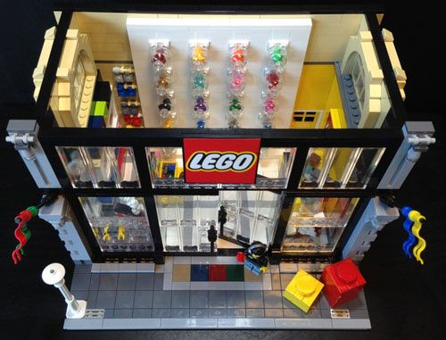 LEGO MOC: LEGO Store Modular Version - Image #10
