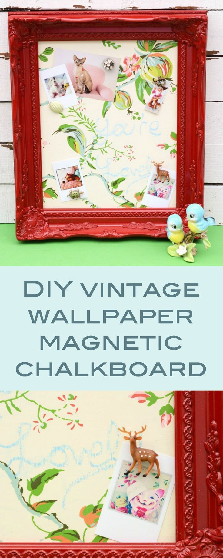 96 best home decor wall art images on pinterest diy wall art frames and projects - Simple ways of keeping your home organized using magnetic picture frames ...