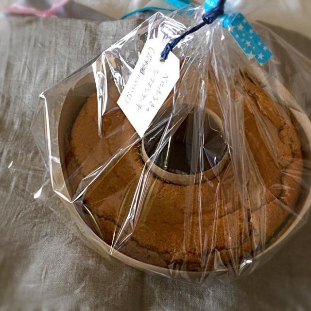 花粉症にいいべにふうきを使いました。 - 17件のもぐもぐ - べにふうきの米粉シフォンケーキ by HeureuxHeure