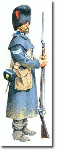The Coldstream Regiment of Foot Guards CABO (batalla de Inkerman) - 1854. Más en www.elgrancapitan.org/foro