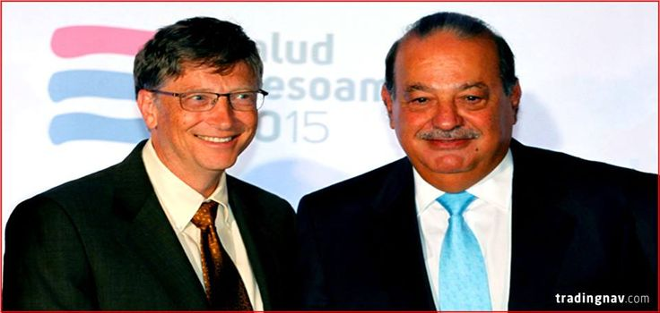 if you divide their net worths by their age, Carlos Slim and Bill Gates have each accumulated more than $100,000 in net worth for every hour they've been alive. ‪#‎Facts‬ ‪#‎tradingnav‬
