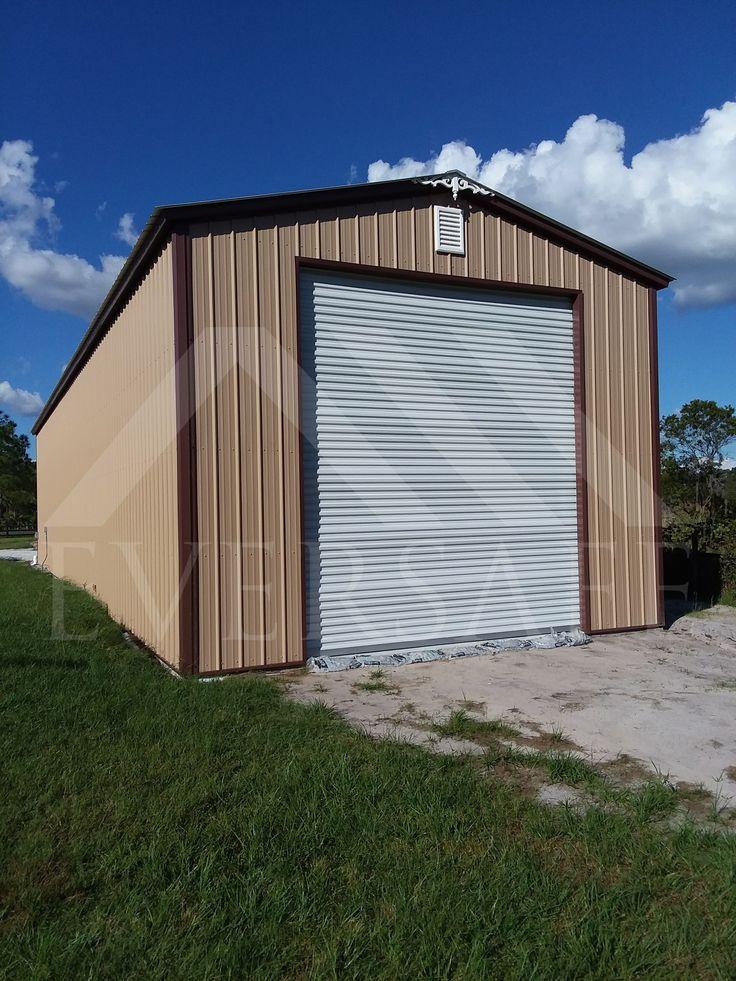 20' x 71'14' Metal Garage Building by Eversafe Metal