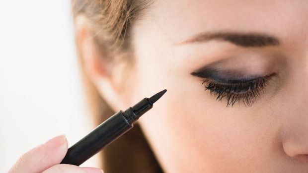 Just how much of your eyeliner stays outside your eye?  Canadian study suggests that people should think twice before putting make-up so close to their eye's tear rims