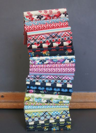 Shelburne Falls fat quarter bundle Just bought this line of fabric. MH