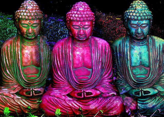 Three Buddhas   •  By John Suler's PhotoPsychology