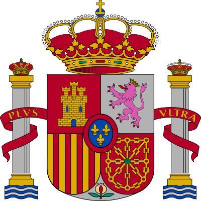 Escudo de España,con la Monarquia Constitucional