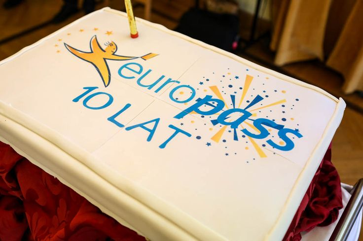 Look at this cake! #Europass10Years