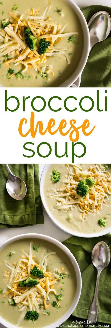 If you like Panera's Broccoli Cheese Soup you have to try this easy copycat recipe you can make at home!