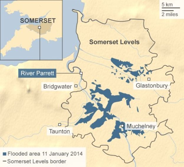 Image result for somerset levels map