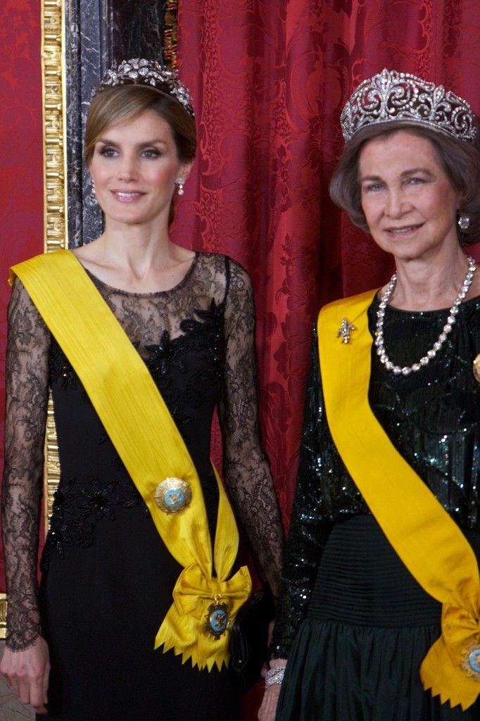 Queen Letizia of Spain, Queen Sofia