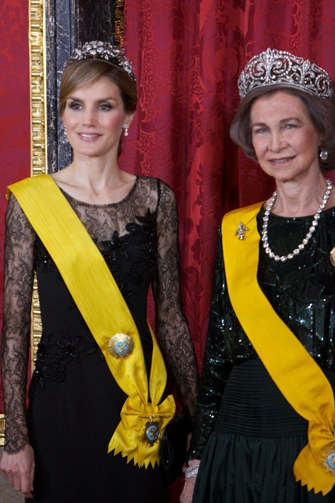Queen Letizia of Spain, Queen Sofia