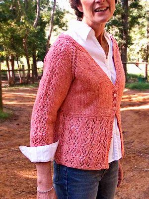 Summer's End Free Cardigan Pattern