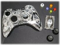 Skyrim xbox 360 wireless controller shell kit